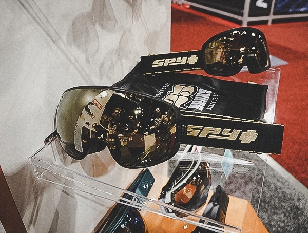 Spy Gold 25th Anniversary Ski Goggles Collection
