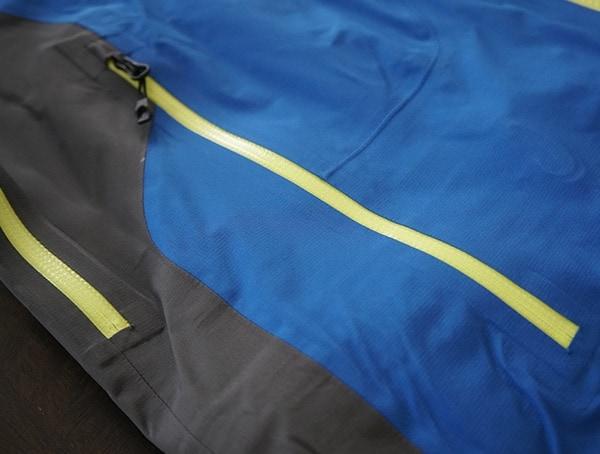 Spyder Eiger Gtx Shell Jacket Zippered Closed Exterior Pocket