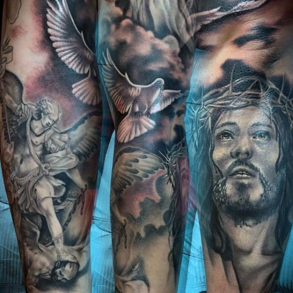 St Michaels Tattoos For Men