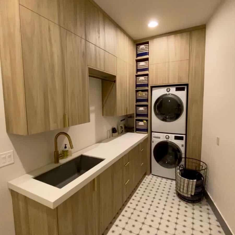 stackable laundry room cabinet ideas millrosewoodwork