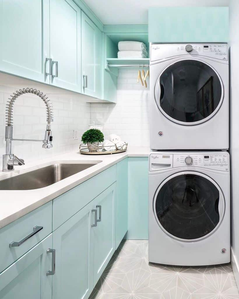 stackable laundry room cabinet ideas pinebaycollective