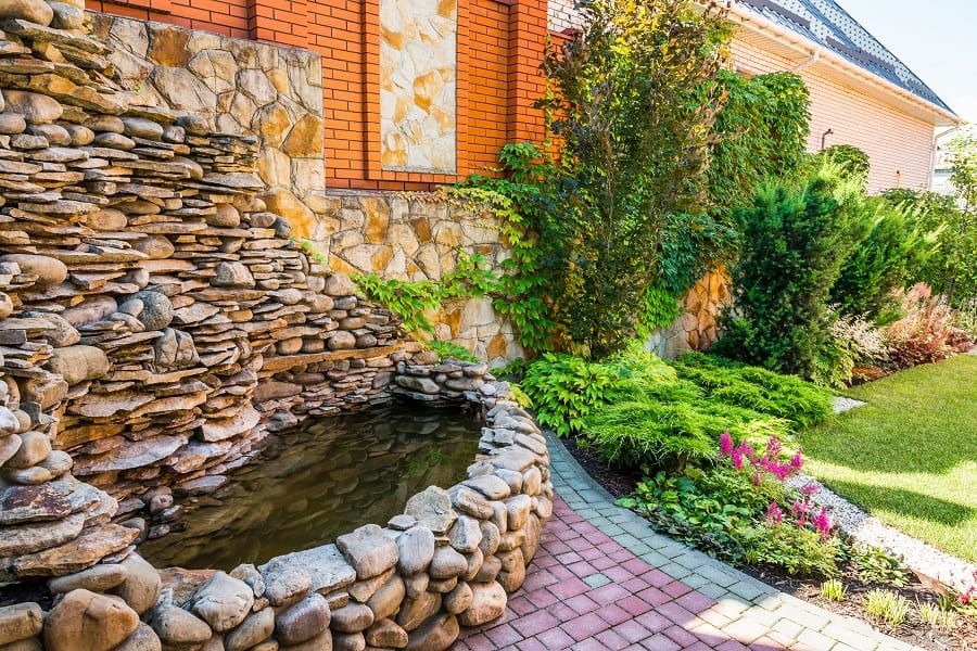 Stairs Exterior Ideas For Rock Landscaping