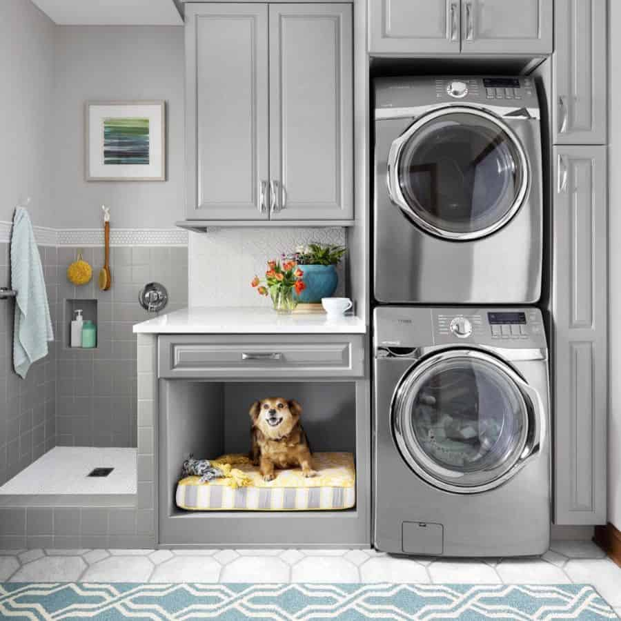 Stacked Small Laundry Room Melissawilliamsonhomes