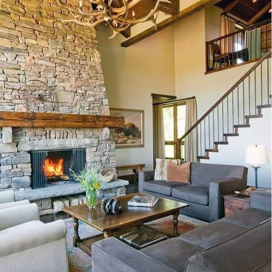 Stone Fire Place Ideas: Top 70 Best Stone Fireplace Design Ideas