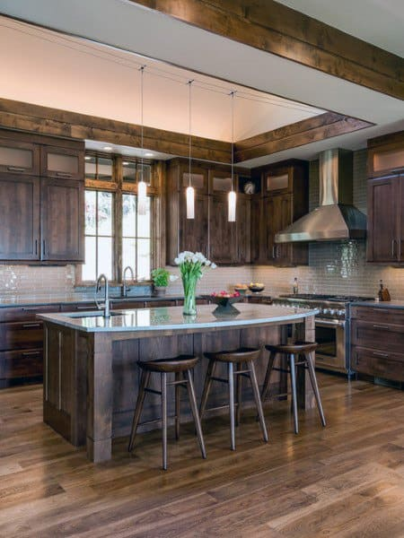 Top 60 Best Rustic Kitchen Ideas Vintage Inspired