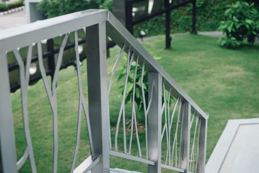Stainless Column Porch Railing Ideas 3