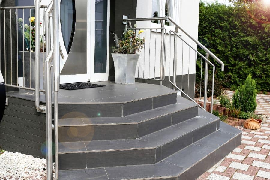 Stainless Column Porch Railing Ideas 5