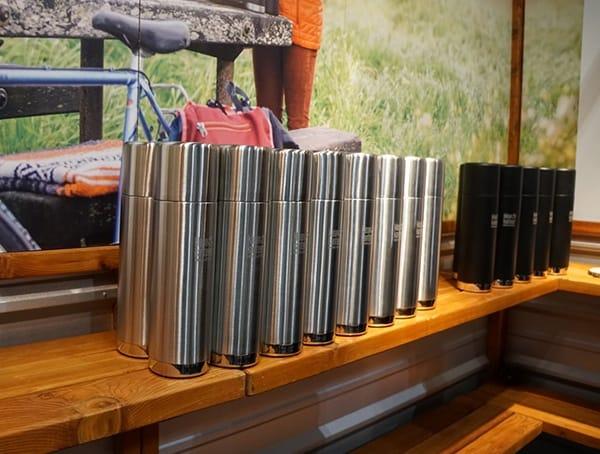 Stainless Steel Insulated Klean Kanteen Bottles