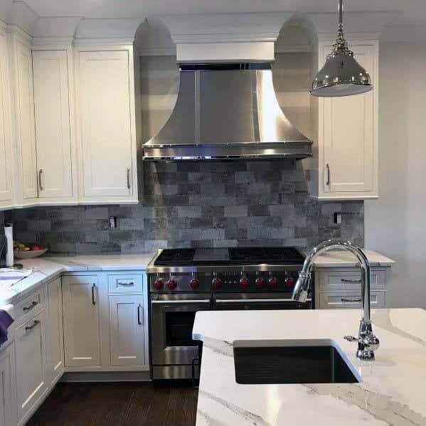Stainless Steel Kitchen Hood Design Inspiration