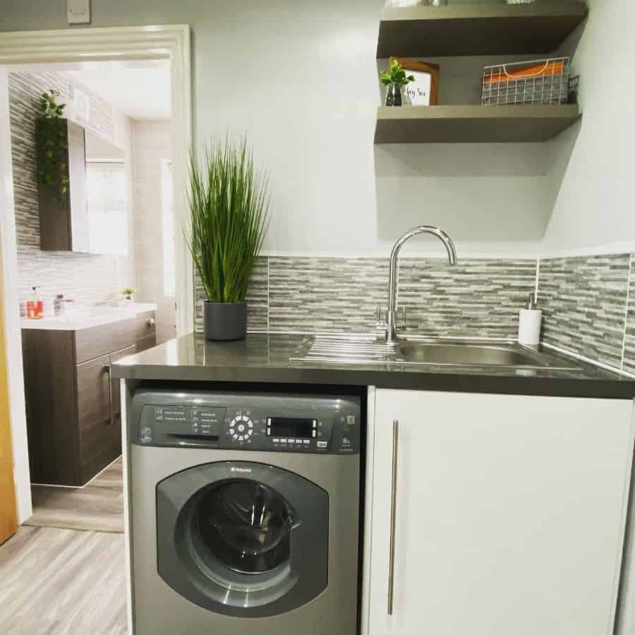 stainless steel laundry room sink ideas forever_home_at_27