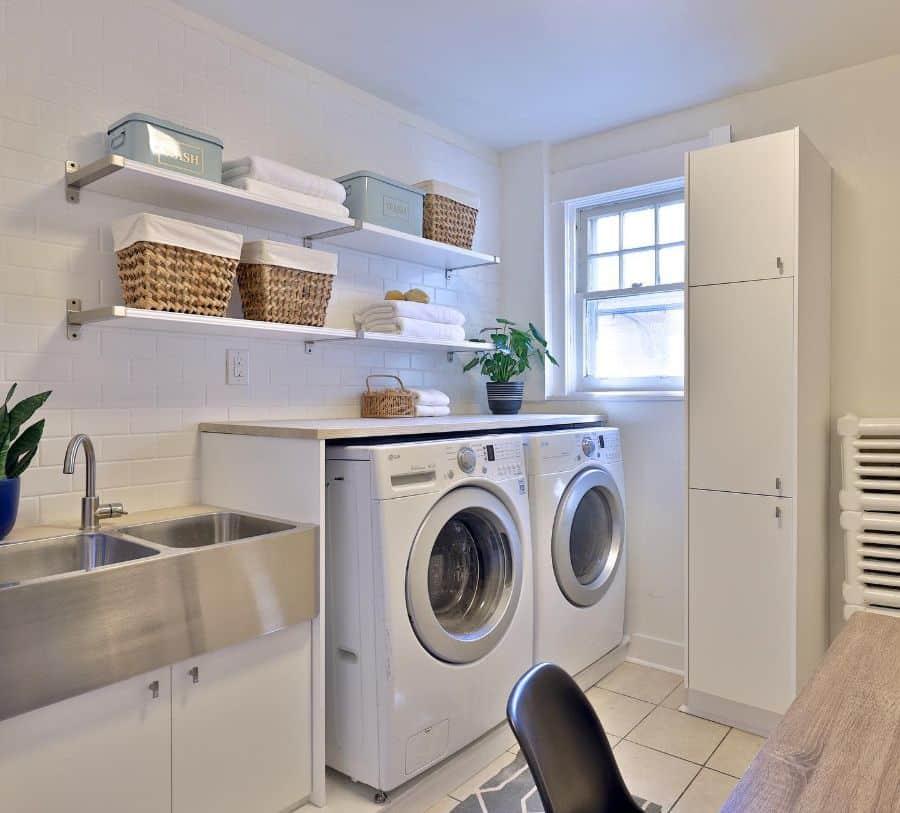stainless steel laundry room sink ideas mhthompsonhome
