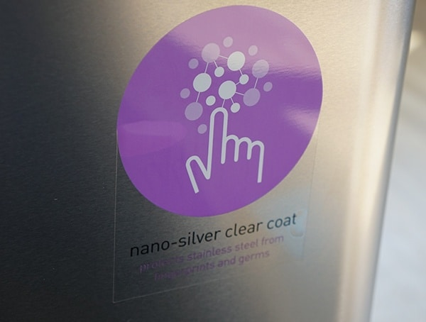 Stainless Steel Nano Silver Clear Coat For Fingerprints