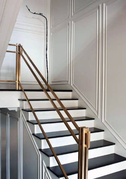 Top 70 Best Stair Railing Ideas Indoor Staircase Designs,Residential Small Backyard Landscape Design