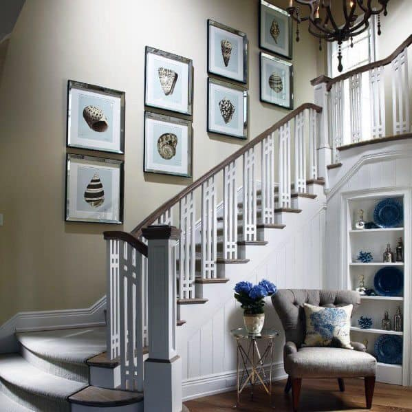 Inspirational Stairs Design: Top 70 Best Stair Railing Ideas
