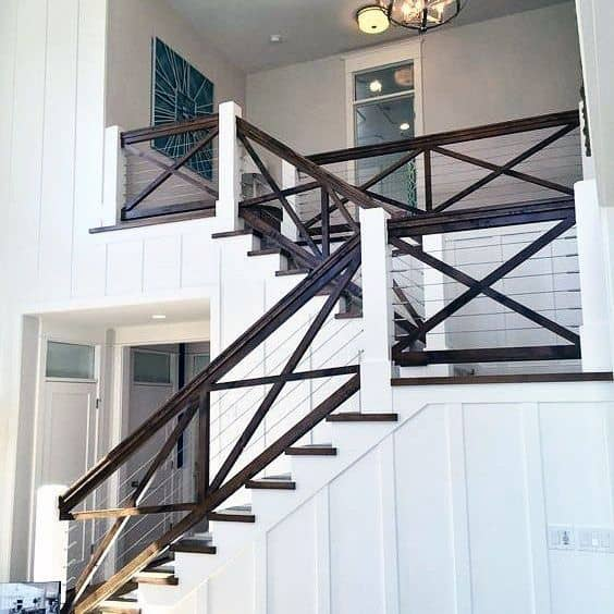 Stair Railing Interior Ideas