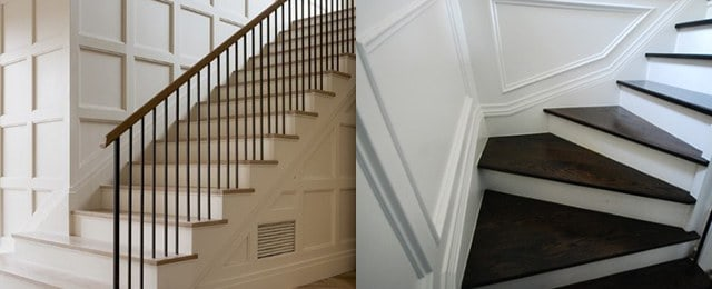 Top 60 Best Stair Trim Ideas – Staircase Molding Designs