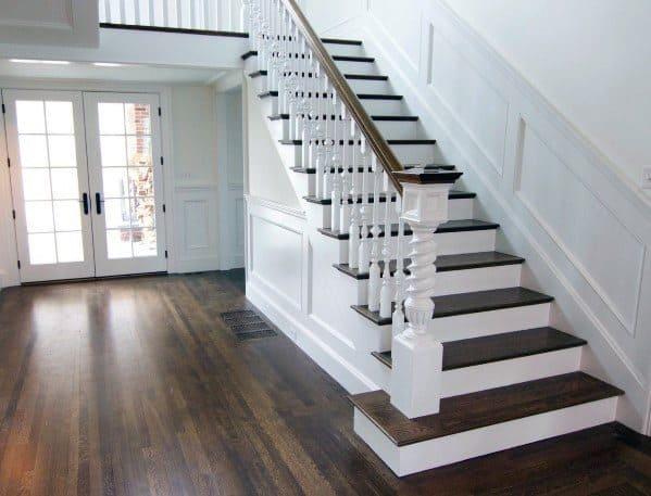 Stair Trim Interior Ideas