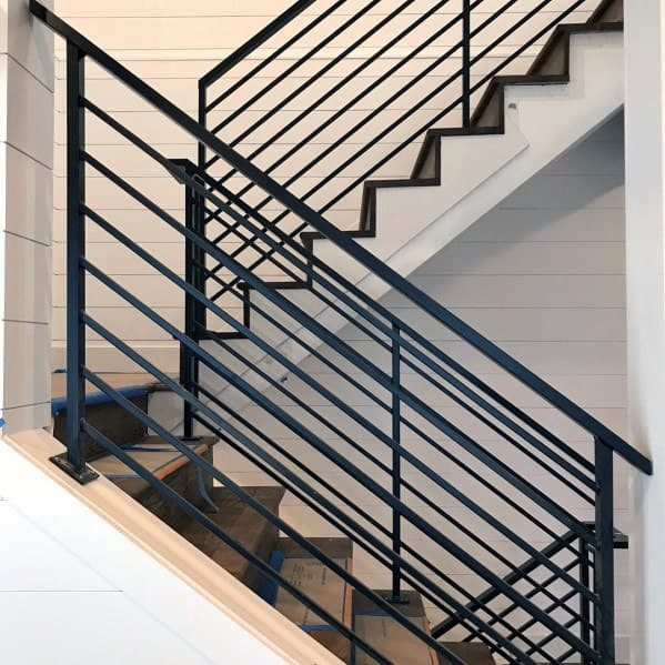 Staircase Home Design Ideas Shiplap Wall