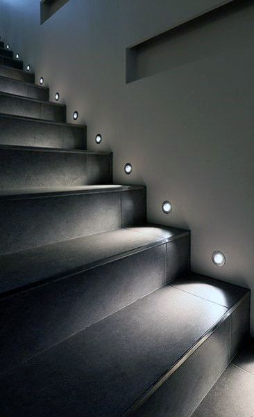Staircase Lighting Cool Interior Ideas