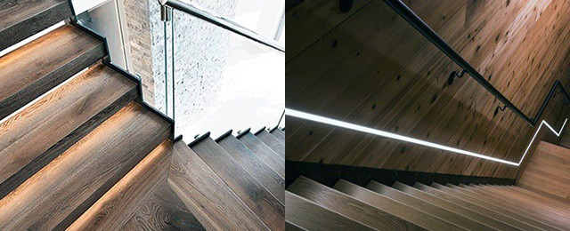 Top 60 Best Staircase Lighting Ideas – Illuminated Steps