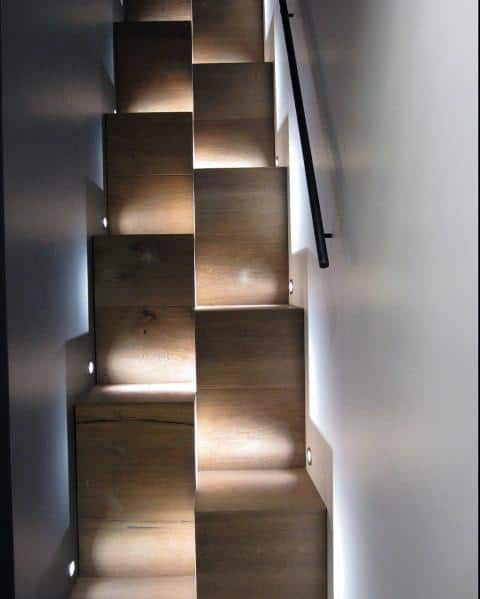 Top 60 Best Staircase Lighting Ideas