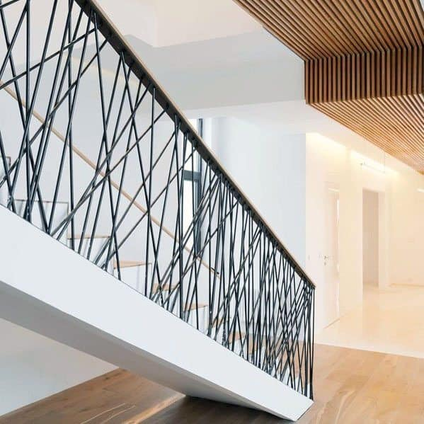Staircase Railing Cool Interior Ideas