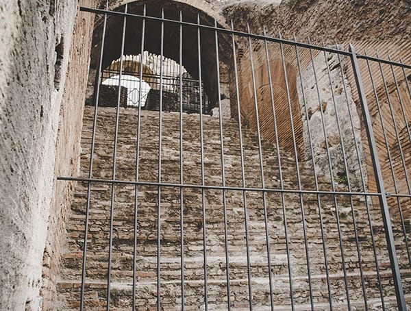Staircase Stone Colosseum