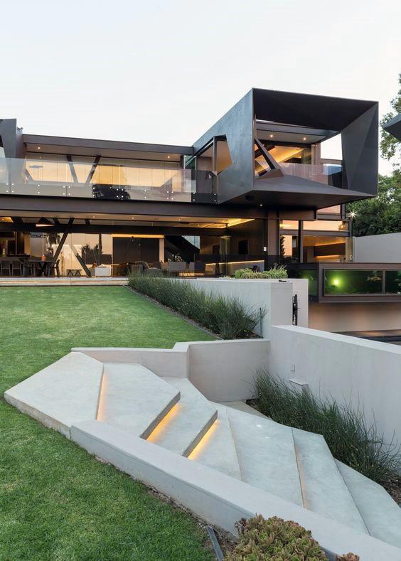 Stairs Concrete Modern Landscape Design