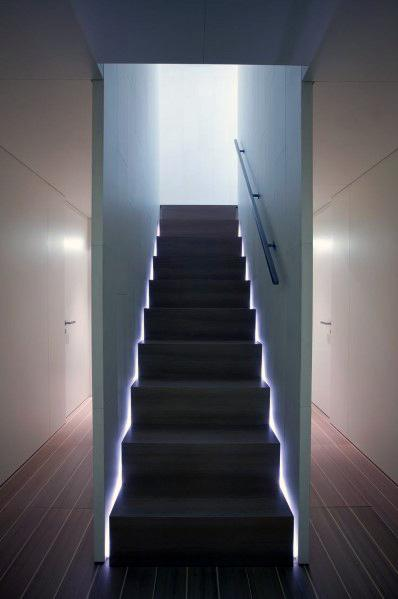 Stairs Led Sides Lighting Home Designs