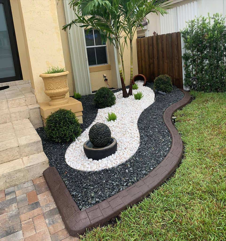 stamped concrete garden edging ideas miamiexclusiveborders