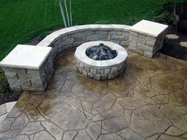 Stamped Concrete Ideas Patios