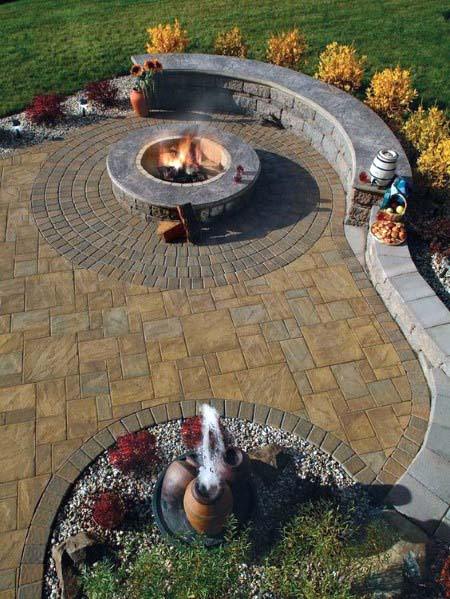 Stamped Concrete Patio Home Designs