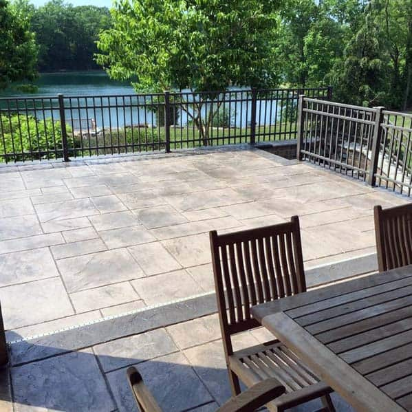 Stamped Concrete Patio Home Ideas
