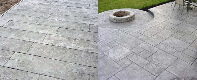 Top 50 Best Stamped Concrete Patio Ideas Outdoor E Designs