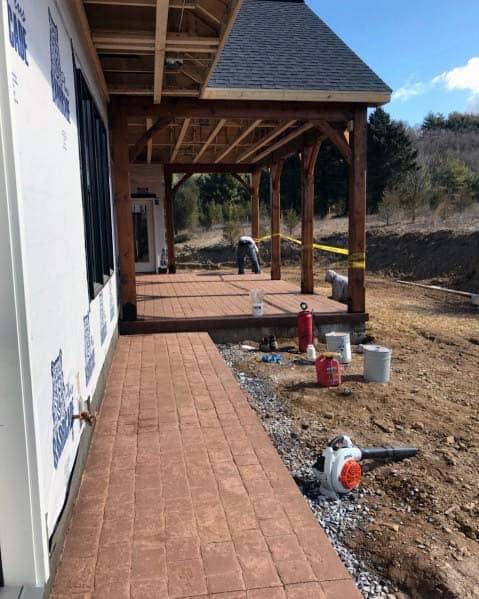 Stamped Concrete Patio Ideas Inspiration