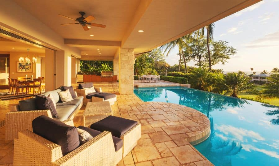 Stamped Concrete Pool Deck Ideas 2