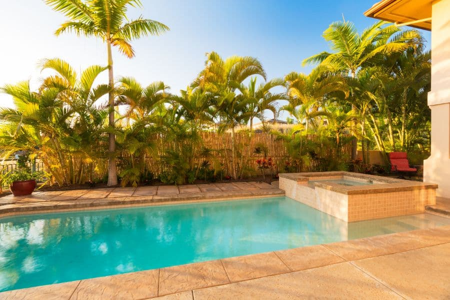 Stamped Concrete Pool Deck Ideas 3