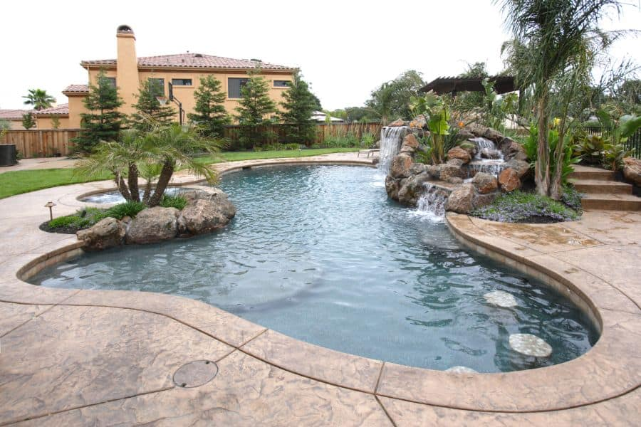 Stamped Concrete Pool Deck Ideas 4