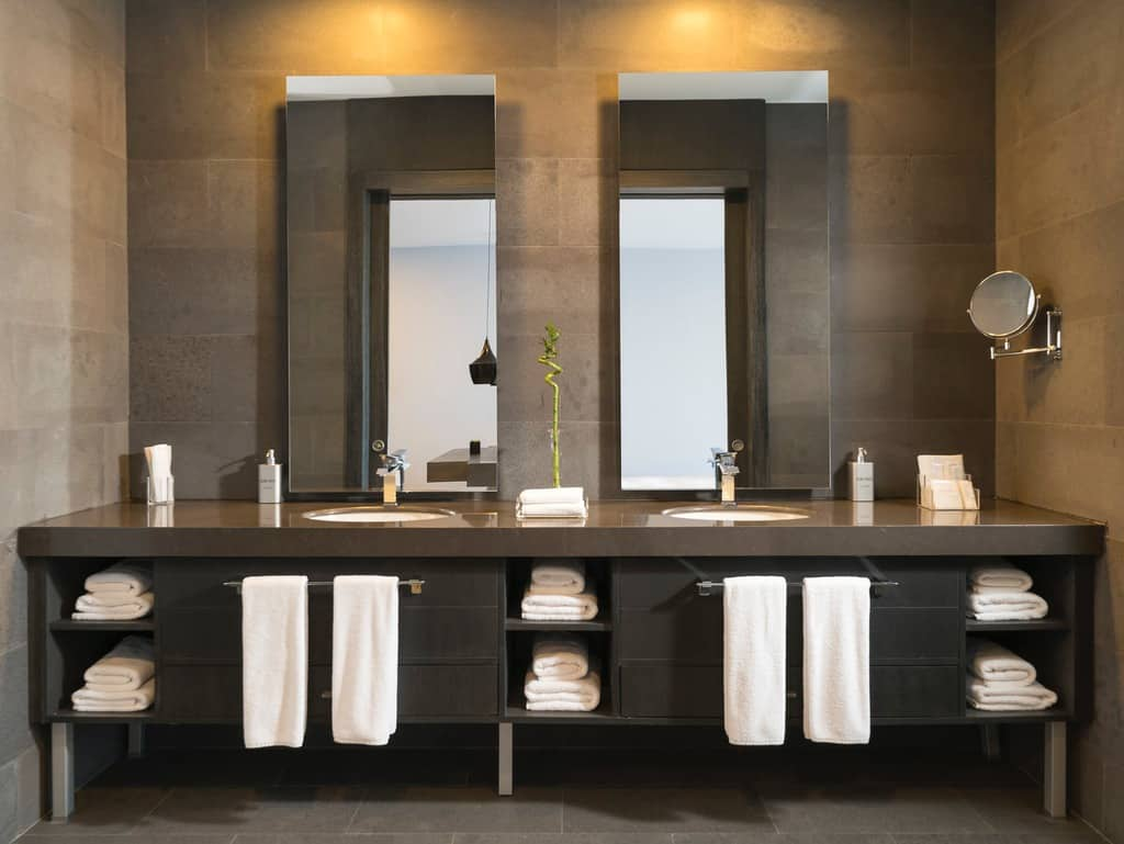 Standing Cabinet Style Vanity Bathroom Storage Ideas 1