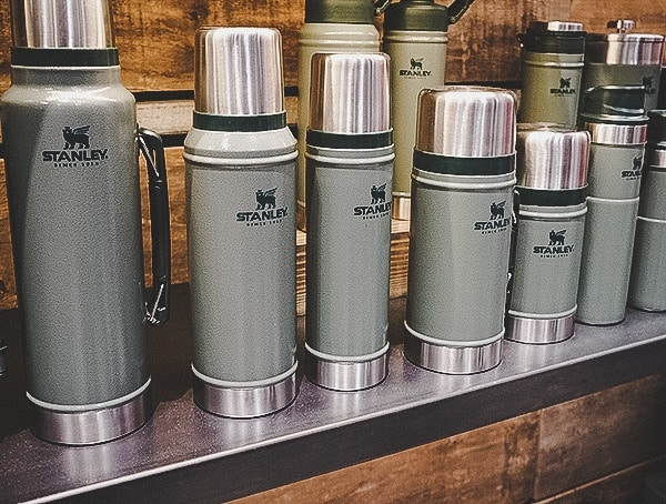 Stanley Insulated Bottle Collection Green
