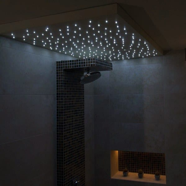 Star Ceiling Shower Lighting Bathroom Ideas