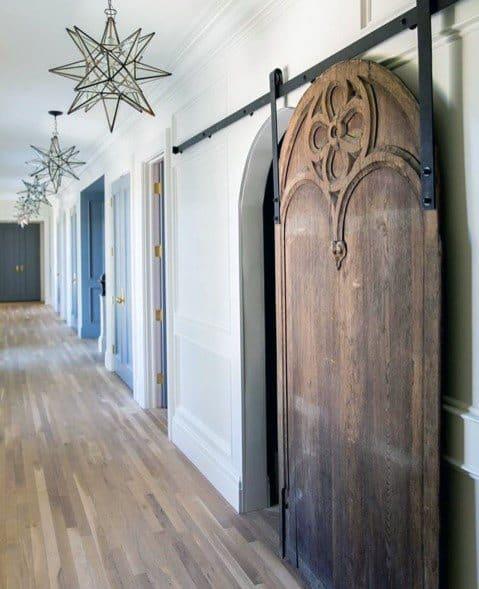 Star Chandeliers Hallway Lighting Interior Ideas