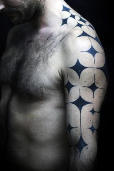 Star Sleeve Tattoo For Men
