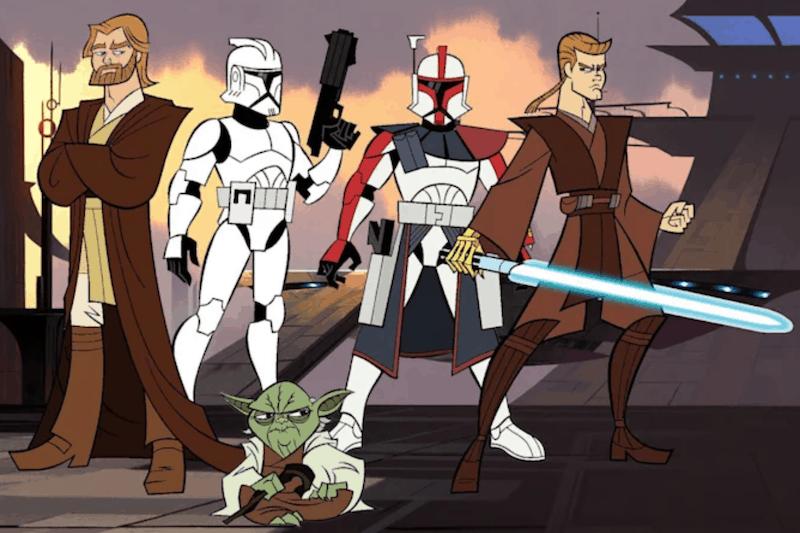 Tartakovsky's 'Star Wars: Clone Wars' to Hit Disney+ April 2