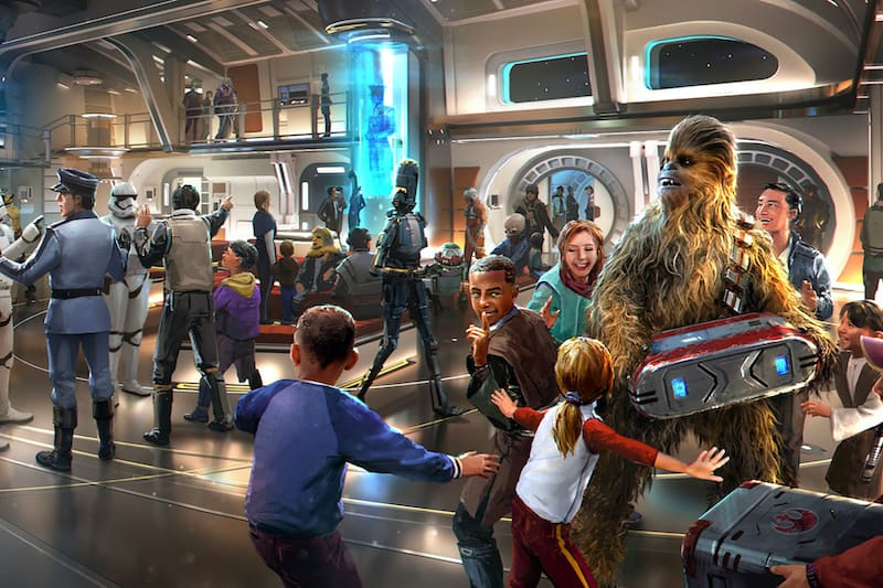 Disney Launches 'Star Wars' Galactic Starcruiser Hotel with Standard and Suite Options