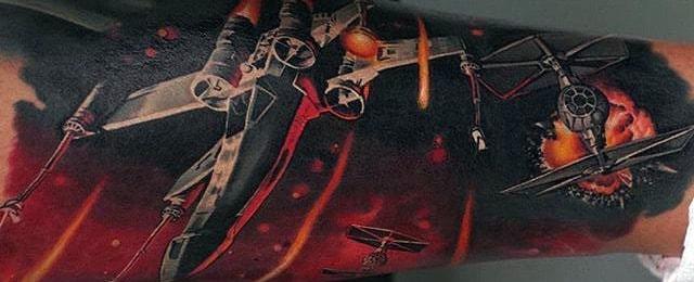 Star Wars Tattoos For Men