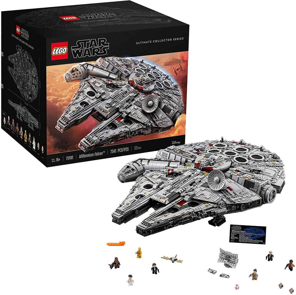 lego star wars ultimate millennium falcon expert building kit and starship model