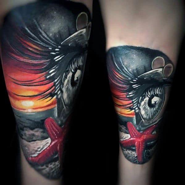 Starfish Guys Tattoo Ideas