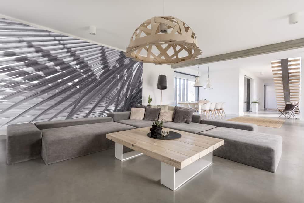 Statement Decor Pieces Minimalist Living Room 1