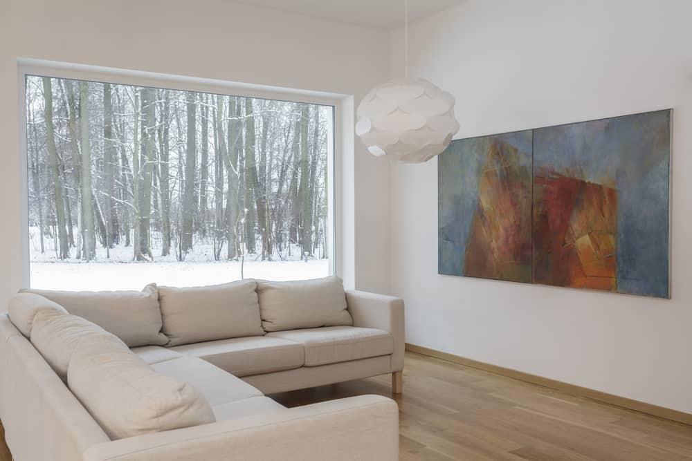 Statement Decor Pieces Minimalist Living Room 2